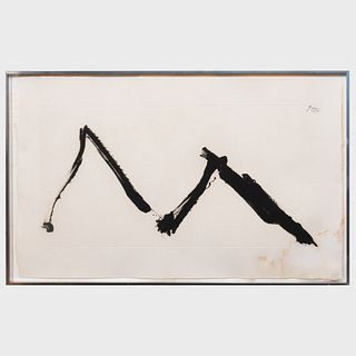 Robert Motherwell (1915-1991): Dance II