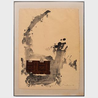 Robert Motherwell (1915-1991): Tobacco Roth-Handle