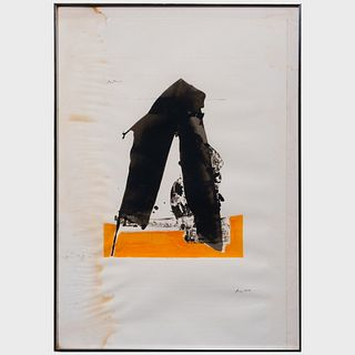 Robert Motherwell (1915-199): The Basque Suite: Three Plates