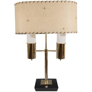 Mid-Century Modern Double Light Table Lamp