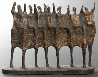 Krishna Reddy 'The Vision' Sculpture