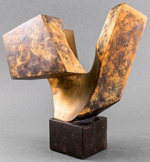 Lorenzo Frechilla Bronze And Stone Sculpture