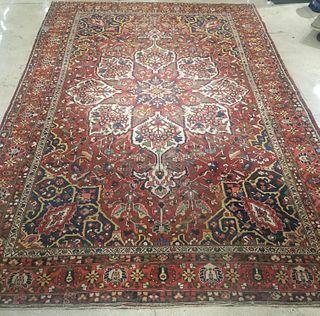 "Persian Heriz Serapi Carpet 16' 2"" x 11' 4"""