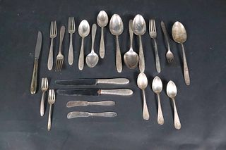 """Group of Sterling """"Manchester"""" Pattern Flatware"""