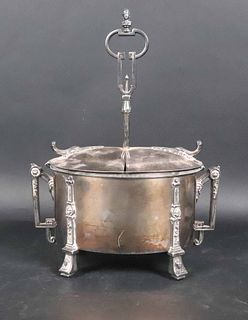 Oval Reed and Barton Silver Plated Egg Warmer