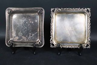 Theodore B Starr Petite Sterling Square Tray