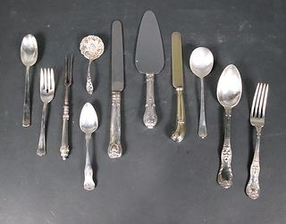 Vintage Sterling and Silver Plate Flatware