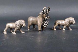 Peruvian 925 Bull Figurine