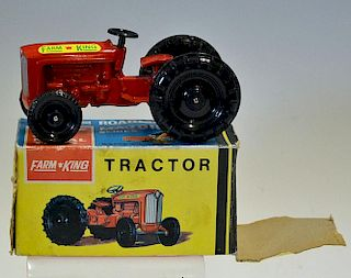 Lone Star Farm King Tractor Roadmaster Major Series precision die cast metal toys in original box