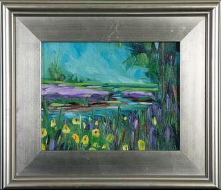 Christopher McGovern, Spring Marsh in Oils