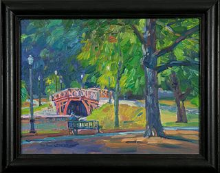 Michael Graves, The Kraft Bridge - A Touch of Fall, 2019