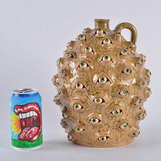 "Marvin Bailey 1 Gallon Eyeball jug 11"""