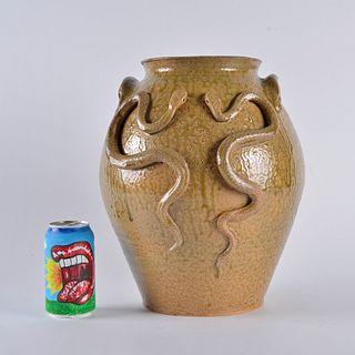 Marvin Bailey Double Snake Jar