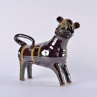Marvin Bailey Lion Multi Glaze