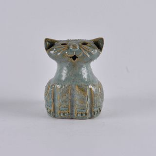 Winton and Rosa Eugene Cat figural