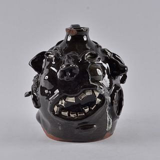 Ned Berry 5 Face Jug