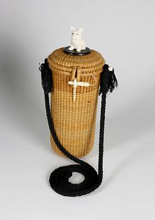 Nantucket Shoulder Friendship Basket Attributed to Donna Cifranic