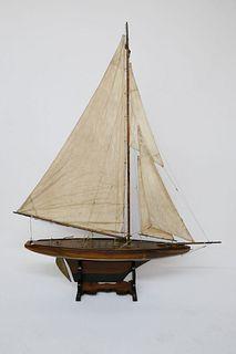 English Yacht Pond Model, 19th century