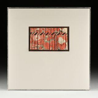 """A WOVEN PAPER SCULPTURE, """"I've Got Rhythm,"""" CIRCA 1981,"""