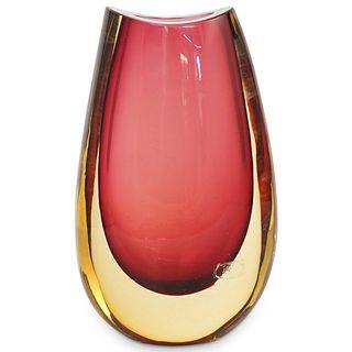 Luigi Onesto X Oggetti Murano Glass Vase
