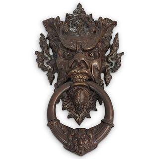 Figura Bronze Gargoyle Door Knocker