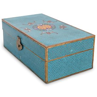 19th Cent. Chinese Cloisonne Box