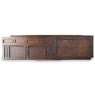 Monumental Architectural Salvage Moroccan Doors