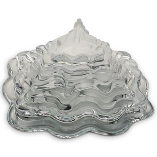 Daum France & J.P. Demarchi Glass Statue