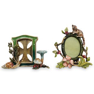(2Pc) Jay Strongwater Picture Frames
