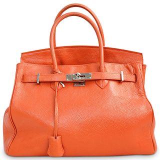 Hermes Style Birkin Bag