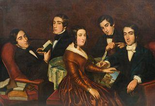 American School, Large Family Portrait