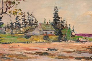 Maurice Van Felix, Cottage By The Sea