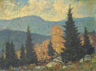 "Vivian Milner Akers, ""October, Newry Maine"""