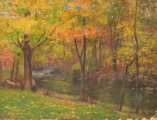 Forest Landscape Painting