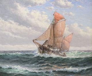 Theodore Valenkamph, Sailing The High Seas
