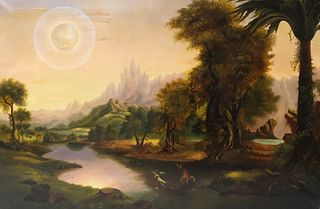 After Thomas Cole, The Voyage of Life: Youth