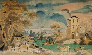 19th Century Needlepoint