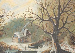 19th Century Winter Landscape