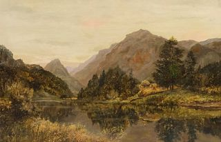 """Griffiths, """"Entrance to Borrowdale"""""""