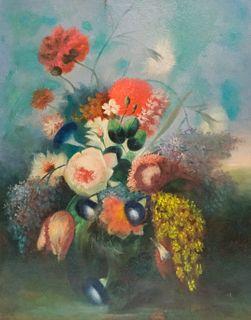 School of Adriaen Coorte, Floral Still Life