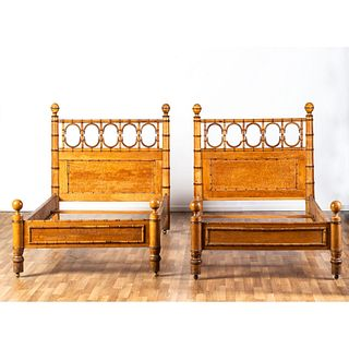 R.J. Horner, Pair of Twin Beds