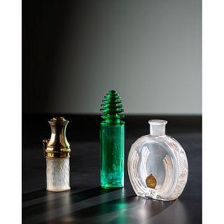 René Lalique, Two Perfume Bottles, Plus