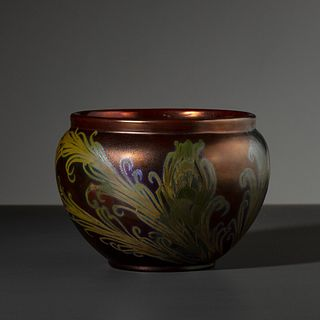 Jacques Sicard for Weller Pottery, Monumental Bowl
