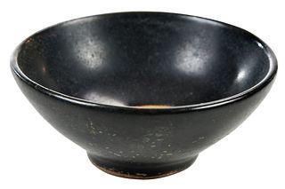 Chinese Black Glazed Jizhou Type Wine Cup