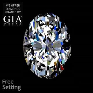 1.50 ct, F/IF, Oval cut GIA Graded Diamond. Appraised Value: $32,000