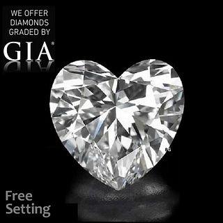 2.01 ct, G/VVS1, Heart cut GIA Graded Diamond. Appraised Value: $51,700