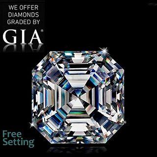 3.02 ct, F/VS1, Square Emerald cut GIA Graded Diamond. Appraised Value: $116,200