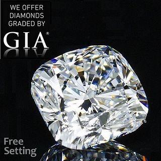 3.01 ct, E/VVS2, Cushion cut GIA Graded Diamond. Appraised Value: $139,500