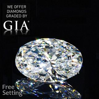 1.70 ct, E/VVS2, Oval cut GIA Graded Diamond. Appraised Value: $34,300