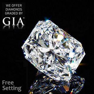 3.01 ct, E/VVS2, Radiant cut GIA Graded Diamond. Appraised Value: $139,500